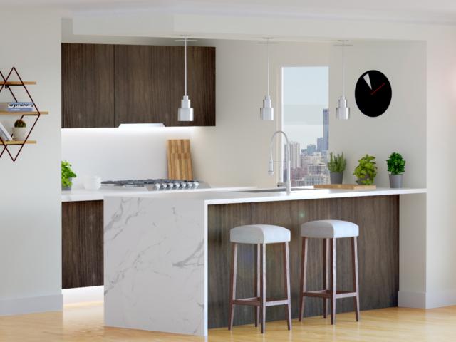 interior design kitchen design render