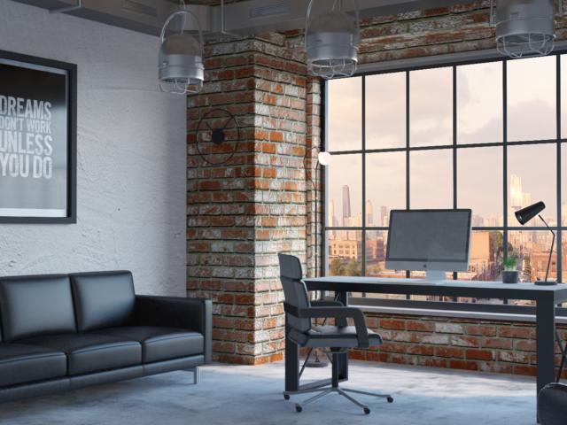 interior design office render CGI